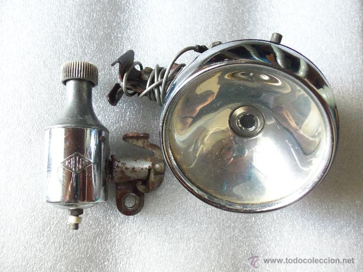 Coches y Motocicletas: Antiguo Farol y dinamo MILLER de bicicleta - - Foto 3 - 42269098