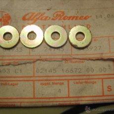 Coches y Motocicletas: ALFA ROMEO 0214516672 - ARANDELAS (LOTE 4 UNIDADES) (ALFA ROMEO ALFASUD SERIES). Lote 42282995