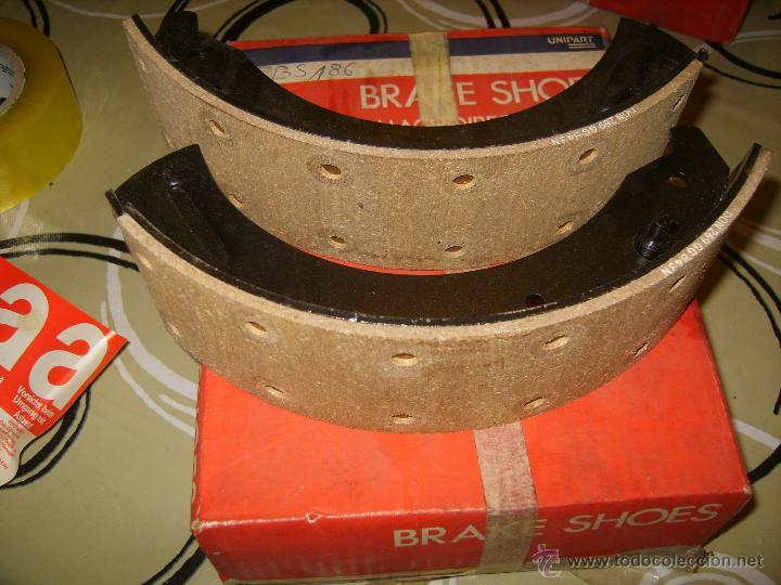 Coches y Motocicletas: UNIPART - ZAPATAS DE FRENO (2 UNIDADES) MOD. GBS186 - Foto 2 - 42535123