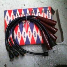 Coches y Motocicletas: CABLES DE BUJIAS PARA RENAULT 8 TS NEGROS. Lote 42594932