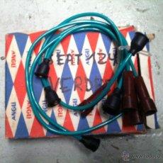 Coches y Motocicletas: CABLES DE BUJIAS PARA SEAT 124 VERDES. Lote 42594958
