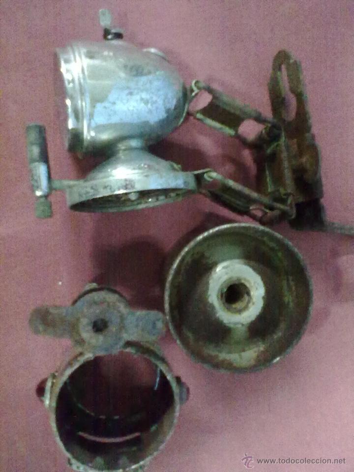 Coches y Motocicletas: FARO FOCO LINTERNA CARBURO - Foto 5 - 43478228