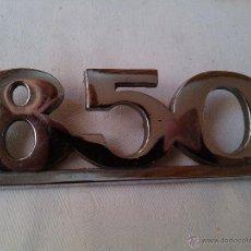 Coches y Motocicletas: COCHE SEAT 850 AUTO. Lote 43921401