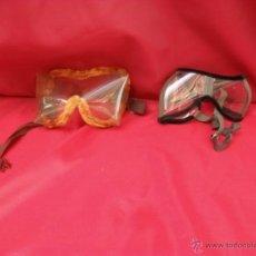 Coches y Motocicletas: 2 GAFAS DE MOTO,VINTAGE,RETRO. Lote 44304335
