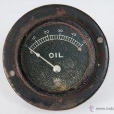 Coches y Motocicletas: ANTIGUO RELOJ OIL. Lote 44415297