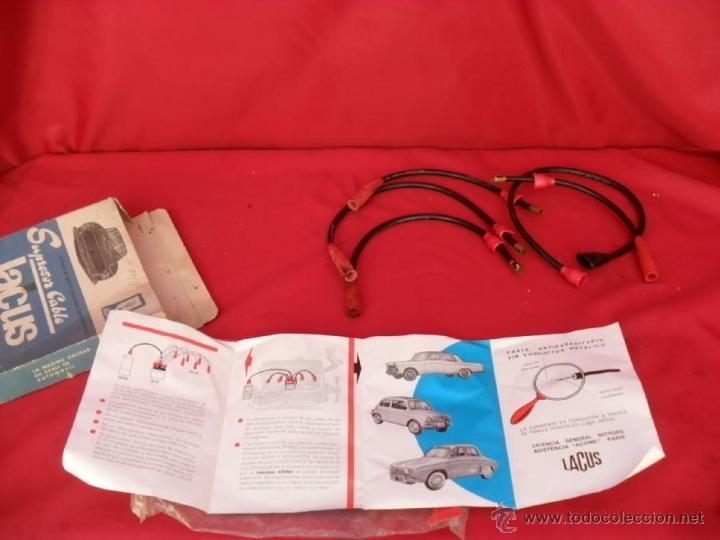 CABLE ENCENDIDO ANTIPARASITARIO PARA SEAT 1430 (Coches y Motocicletas - Repuestos y Piezas (antiguos y clásicos))