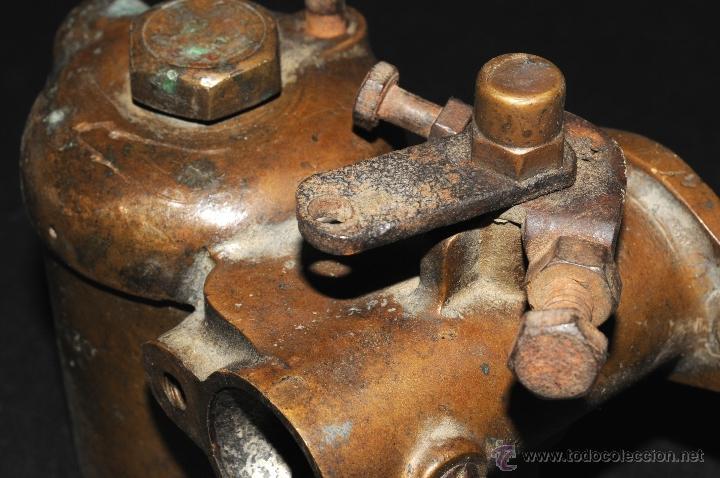 Coches y Motocicletas: ANTIGUO CARBURADOR DE COCHE AÑOS 1920//30 EN METAL LATON - Foto 4 - 45312129
