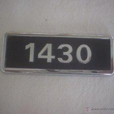 Coches y Motocicletas: ANAGRAMA SEAT 1430. Lote 46097476