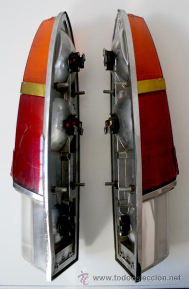 Coches y Motocicletas: Pareja de tulipas / faros / pilotos traseros Seat 1500? NUEVOS - Foto 2 - 46783138