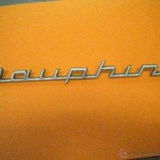 Coches y Motocicletas: ANAGRAMA DAUPHINE RENAULT.ANTIGUO.. Lote 49131922
