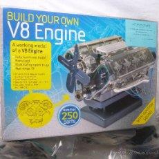 Coches y Motocicletas: MOTOR V-8 ENGINE .MAQUETA PARA MONTAR .TRASPARENTE Y CON MOVIMIENTO Y SONIDO..PRODUCTO NUEVO... Lote 49478540