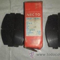 Coches y Motocicletas: PASTILLAS DE FRENO -- NECTO. Lote 51208613