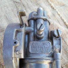 Coches y Motocicletas: ANTIGUO CARBURADOR DELLORTO 1ª SERIE---AÑOS 60---SHA -12 -12,,SIN FILTRO. Lote 93646257