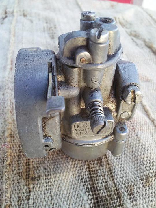 Coches y Motocicletas: antiguo CARBURADOR DELLORTO 1ª serie---años 60---sha -12 -12,,sin filtro - Foto 6 - 93646257