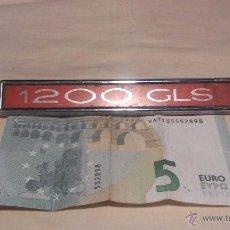Coches y Motocicletas: ANAGRAMA (SIMCA) 1200 GLS (EL BILLETE 5€ NO ENTRA EN EL LOTE, YA VENDIDO). Lote 51699181
