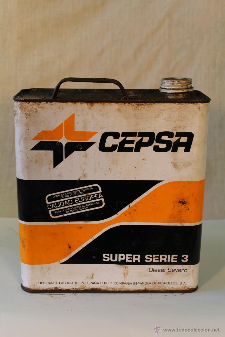 LATA DE 5L. ACEITE CEPSA (Coches y Motocicletas - Repuestos y Piezas (antiguos y clásicos))