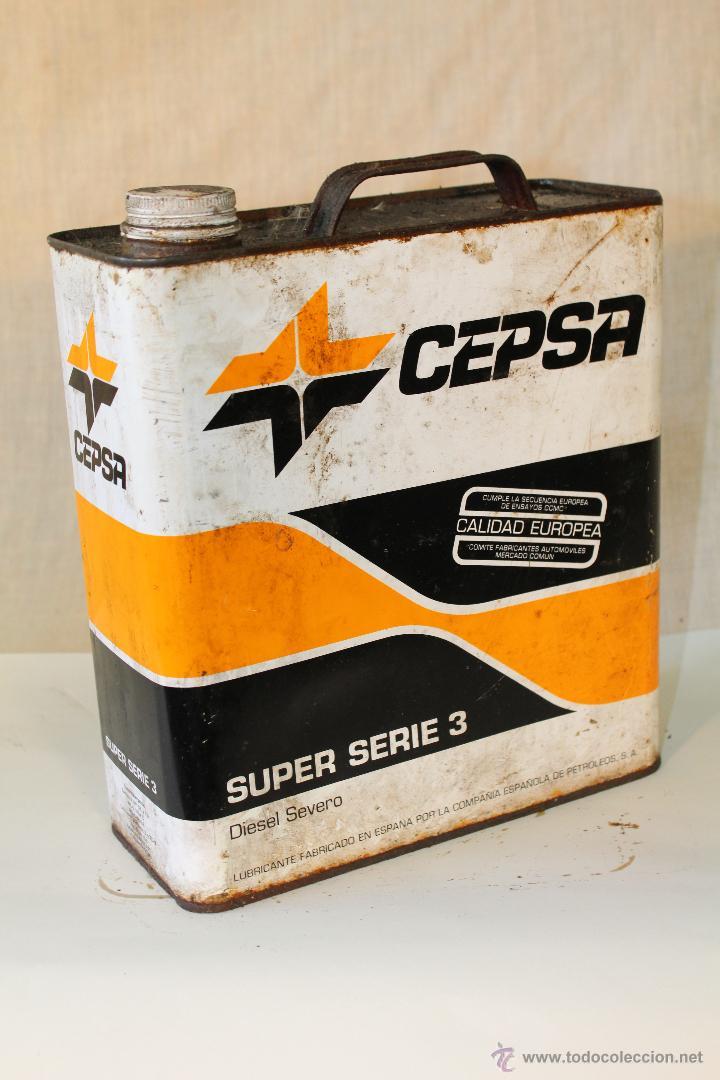 Coches y Motocicletas: LATA DE 5L. ACEITE CEPSA - Foto 3 - 53329429