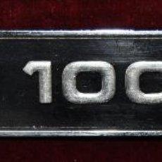 Coches y Motocicletas: INSIGNIA TRASERA PARA EL MODELO MINI 1000-LS. Lote 53458906