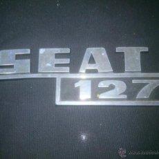Coches y Motocicletas: PLACA INSIGNIA COCHE SEAT 127. Lote 53478474