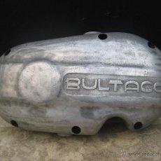 Coches y Motocicletas: PRECIOSA TAPA MOTOR ANTIGUA MOTO BULTACO IDEAL DECORACION TALLER O RESTAURACION MOTOS CLASICAS. Lote 53715776