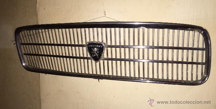 Coches y Motocicletas: Antigua parrilla de coche Peugeot - Foto 4 - 53939503