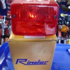 Coches y Motocicletas: MOTO CICLOMOTOR VESPINO PILOTO NUEVO RINDER. Lote 54449158