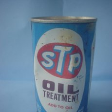 Coches y Motocicletas: BOTE ACEITE STP OIL TREATMENT - 1975. Lote 54726357