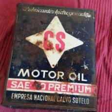 Coches y Motocicletas: LATA DE ACEITE CS 2 LITROS. Lote 55730983