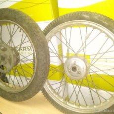 Coches y Motocicletas: RUEDAS MOTO.. Lote 56481720
