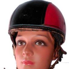 Coches y Motocicletas: CASCO DE MOTO DE ÉPOCA DECORACIONES URBANAS SHABBY CHIC. Lote 57523725