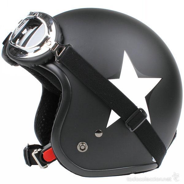 Casco Para Moto Clasica Vespa Etc Comprar Repuestos Y