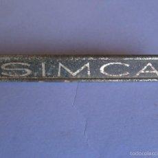 Coches y Motocicletas: ANAGRAMA SIMCA. Lote 57718910