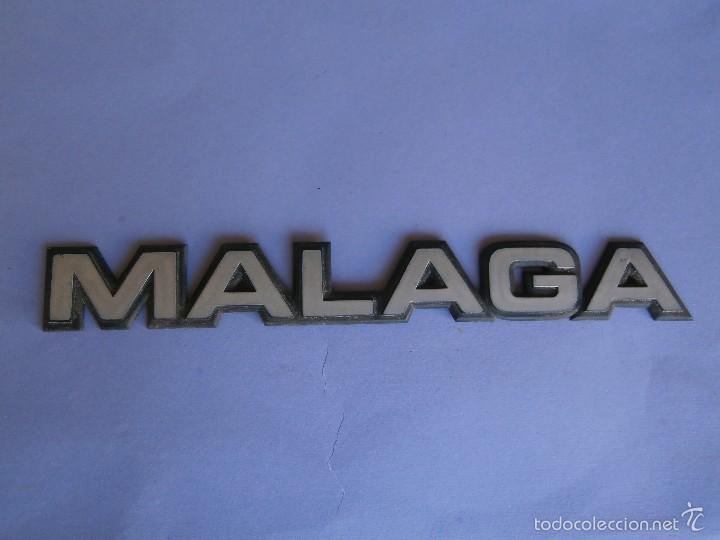 ANAGRAMA MALAGA (Coches y Motocicletas - Repuestos y Piezas (antiguos y clásicos))