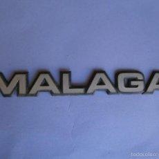 Coches y Motocicletas: ANAGRAMA MALAGA. Lote 57719023