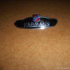 Coches y Motocicletas: INSIGNIA USA EEUU ORIGINAL KARMANN COCHE AMERICANO USA LA DIFICIL PERFECTA. Lote 57773242