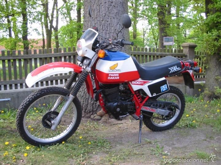 BUSCADO PORTAFARO HONDA XL500 R 1981 CUPULA SCRAMBLER FARO MOTO PROYECTO CAFE RACER VINTAGE (Coches y Motocicletas - Repuestos y Piezas (antiguos y clásicos))