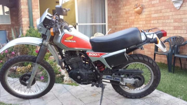 Coches y Motocicletas: BUSCADO PORTAFARO HONDA XL500 R 1981 CUPULA SCRAMBLER FARO MOTO PROYECTO CAFE RACER VINTAGE - Foto 8 - 58138292