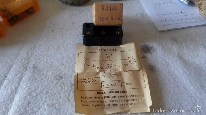 BOTE DE INTERMITENTE (Coches y Motocicletas - Repuestos y Piezas (antiguos y clásicos))