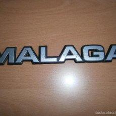 Coches y Motocicletas: ANAGRAMA MALETERO SEAT MALAGA. Lote 60674167