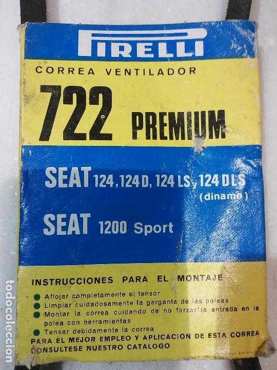 Coches y Motocicletas: Correa del Ventilador de Coche SEAT 124, 124 D, 124 LS... - Foto 2 - 66891882
