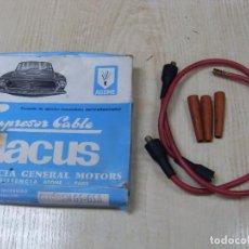 Coches y Motocicletas: CONJUNTO DE IGNICIÓN (ENCENDIDO) ANTIPARASITARIO LACUS - CITROËN GS-GSA. Lote 69069129