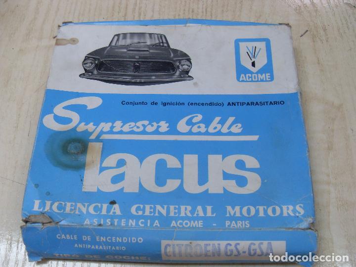 Coches y Motocicletas: Conjunto de ignición (encendido) antiparasitario LACUS - Citroën GS-GSA - Foto 4 - 69069129