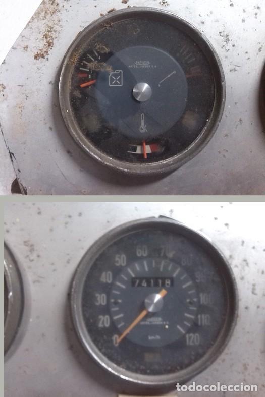 Coches y Motocicletas: ANTIGUO CUADRO DE MANDOS DE AUTOMOBIL - Foto 2 - 69132177