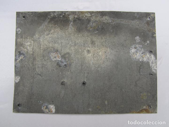 Coches y Motocicletas: chapa de arbitrio , agricola 6 aldover 1958 - tarragona - Foto 2 - 69748781
