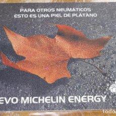 Coches y Motocicletas: ALFOMBRILLA NUEVO MICHELIN ENERGY NEUMATICO NEUMATICOS RATON PC PARA EL ORDENADOR BIBENDUM. Lote 70860301