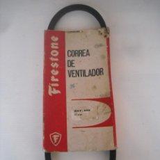 Coches y Motocicletas: FIRESTONE CORREA VENTILADOR Nº 640 REF 699 SEAT 850 DESDE MAYO 1966. Lote 73554639