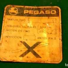Autos und Motorräder - Chapa Pegaso motor, 9cm - 73836919