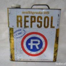 Coches y Motocicletas: LATA ACEITE REPSOL MULTIGRADO HD - 5 LITROS. Lote 76783655