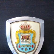 Coches y Motocicletas: PLACA PARA COCHE O MOTO UD LAS PALMAS MADE IN SPAIN VESPA. Lote 79622841