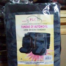 Coches y Motocicletas: AÑOS 70 EN ADELANTE. FUNDA PARA ASIENTOS COCHE. Lote 83810100